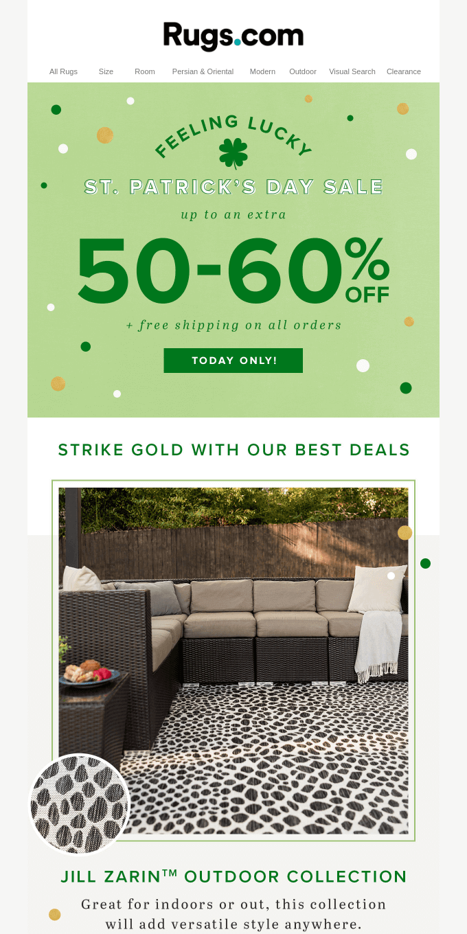 You're In Luck With St. Patrick's Day Savings 🍀