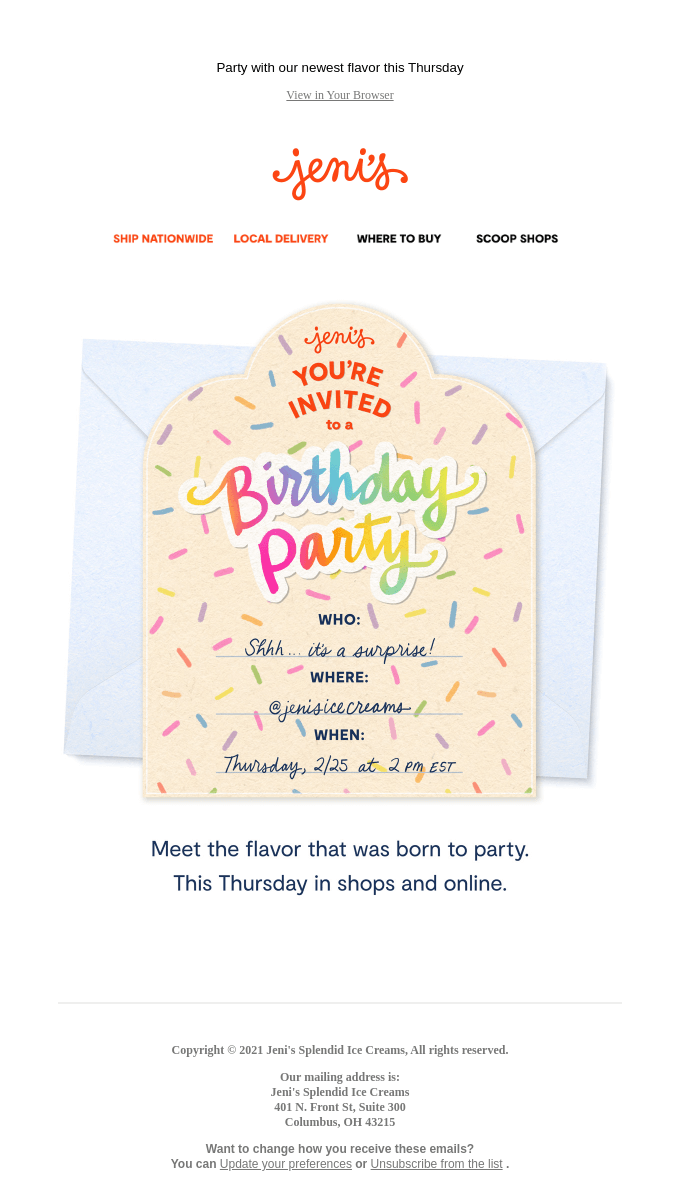 You're invited! 🎂🍦