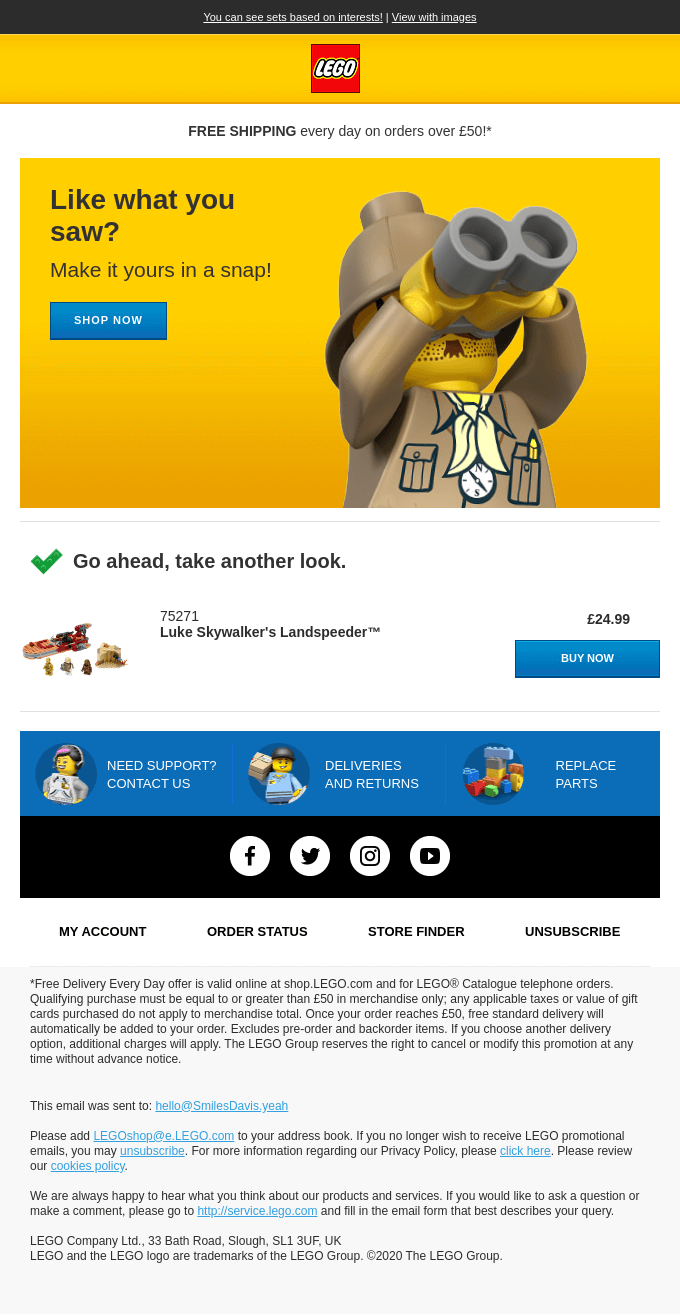 You've looked at some great LEGO® sets!